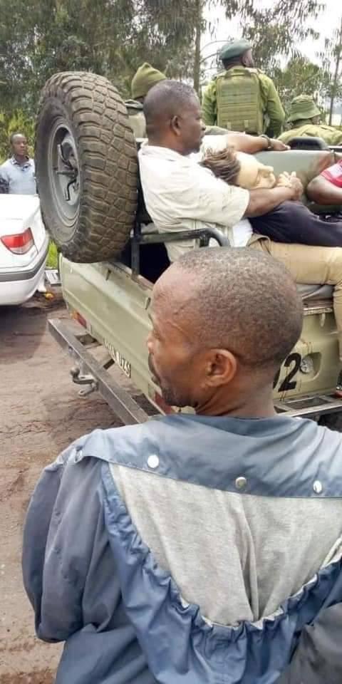 RDC/ Image inédite du corps de l'ambassadeur italien tué